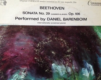 Beethoven Sonata No 29, Op106 performed By Daniel Barenboim