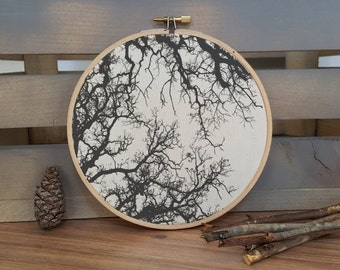 Tree Branches Silhouette print