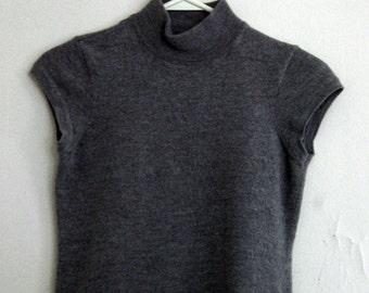 Vintage 90's Jones New York Merino Wool Crop Top