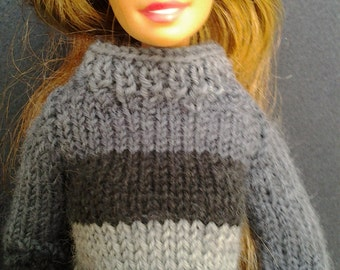 Handmade jumper/sweater - clothes for your Barbie doll