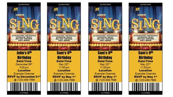 Movie Ticket Birthday Invitation is beautiful invitations ideas