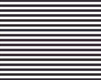 Black and white stripe craft  vinyl sheet - HTV or Adhesive Vinyl -  stripe pattern HTV3016