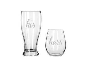 His & Hers Drinkware Set