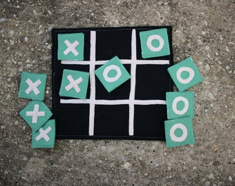 Felt Tic-Tac-Toe Game