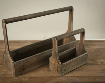 3 Wooden Planters