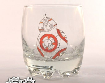 Glass BB8 Star Wars (in color)