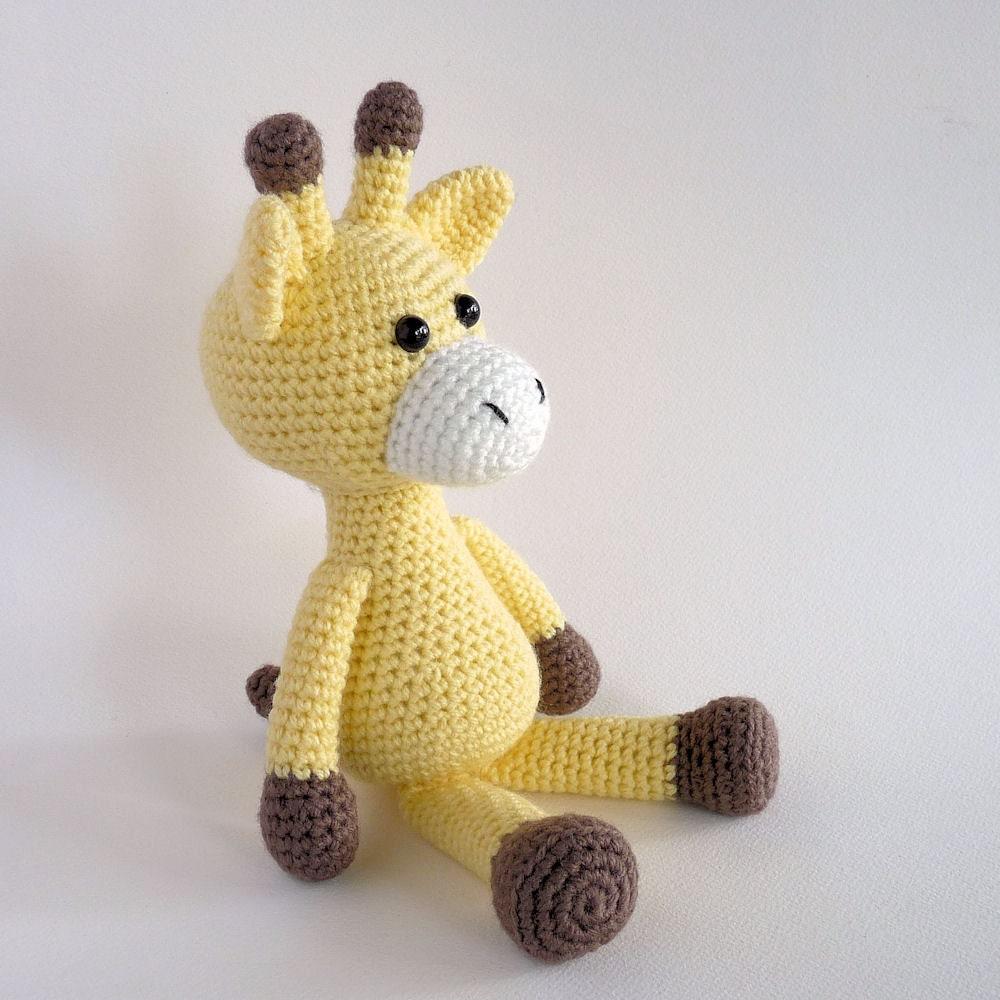 Cuddly Amigurumi Giraffe : Amigurumi Giraffe Crochet Toy Giraffe Plush Giraffe Crochet