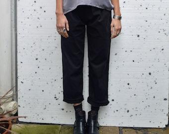 Organic Cotton Peg Leg Trousers