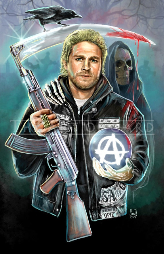 Jax the Reaper (Jax Teller/Charlie Hunnam) digital media