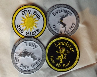 Game of Thrones Iron on / Sew on patch