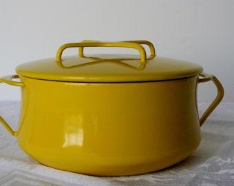 Jens Quistgaard Yellow Dansk Kobenstyle Dutch Oven