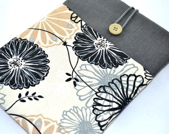 """17 inch macbook pro case, custom made to fit 17 inch laptop,  macbook sleeve, 17"""" laptop case , 17"""" Macbook Case- Dandelion"""