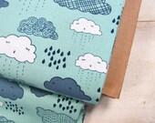 Greatest Adventure - Clouds(Aqua) - Cinderberry Stitches - Natalie Lymer - Riley Blake Designs