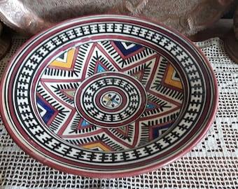 Ceramic morrocan bowl