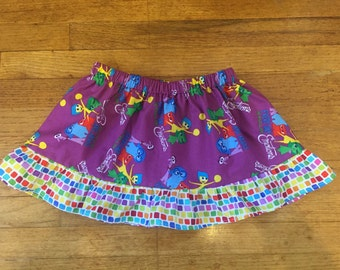 Inside Out skirt with ruffles Size 3/4T