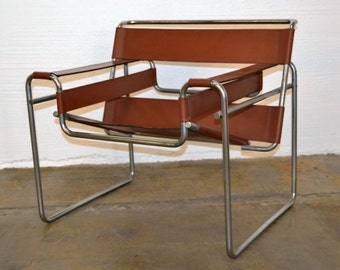 Mid Century Wassily Chair Marcel Breuer - Wonderful chair
