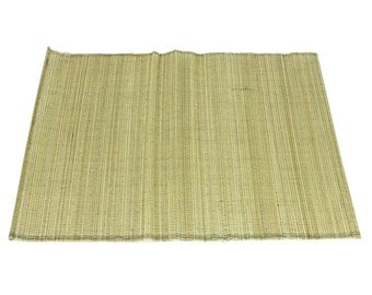 "Green Bamboo Place Mat 13"" x 19"" set of 4 Home & Kitchen, Home Decor, elegant looking, place setting, modern look,  (BAP02-60)"