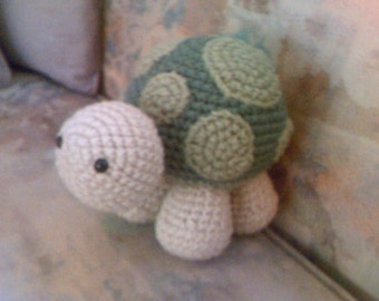 Baby Turtle Stuffed Plushie Toy