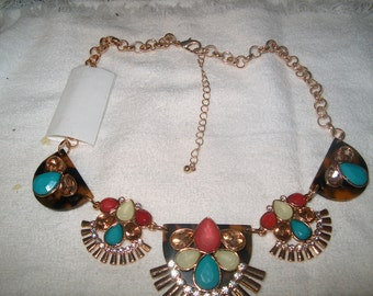 """Costume Jewelry Necklace Choker 18"""", Colors, WAS 25.00 - 50% = 12.50"""