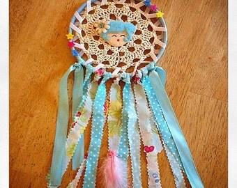 Blue girly dreamcatcher