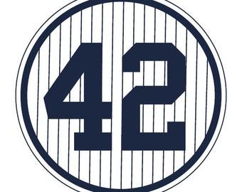 New York Yankees Retired Numbers Prints (set of 23) / Yankee Stadium, Man Cave, poster, art, baseball fan, Boys room, Banners