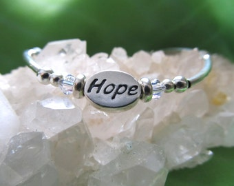HOPE  - Sterling Silver Bracelet