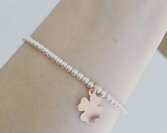 Lucky bracelet in sterling silver 925