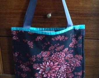 Vintage Kimono tote bag