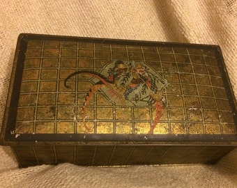 Antique Canco Tin Box