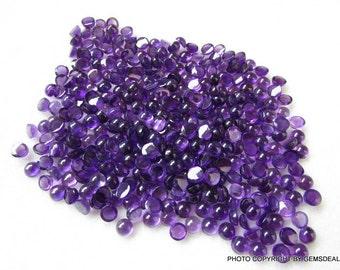 10 pieces 5mm Amethyst Cabochon Round Gemstone, Natural AMETHYST Round cabochon Gemstone, have lots of gorgeous, Amethyst Cabochon Round