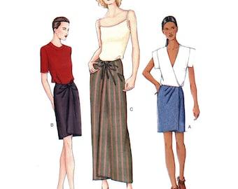 Vogue 7454 Sewing Pattern Misses' Skirt  Size:  14-16-18  Uncut