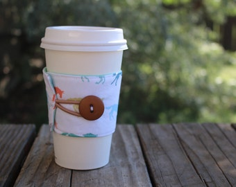 Reusable Coffee Cup Sleeve / Coffee Cup Cozy