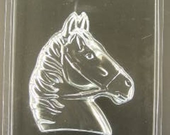 "Large Horse Head chocolate mold (5 1/4"" wide x 6"" tall)"