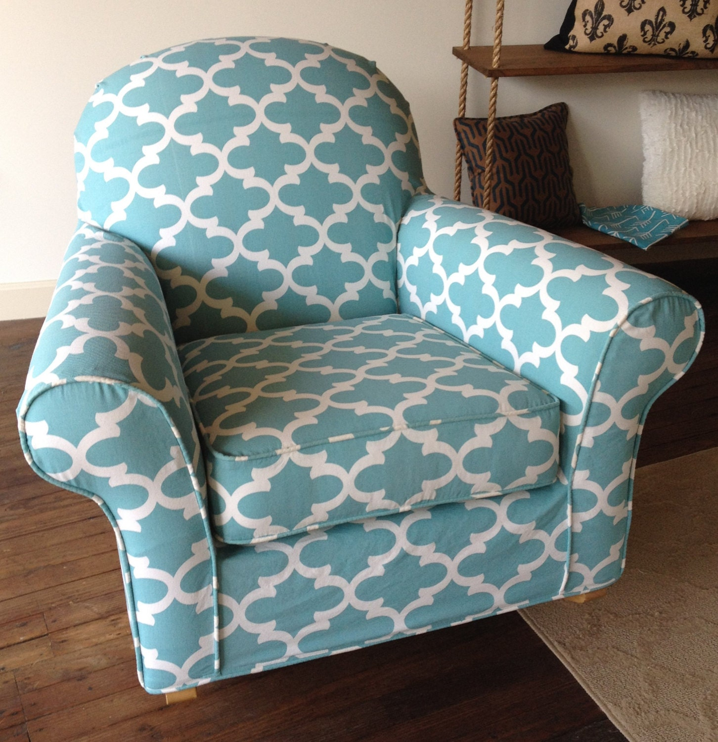 Custom Chair Slipcover For Your Discontinued Pottery Barn