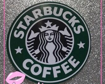 Starbucks coffee logo sticker decal car laptop