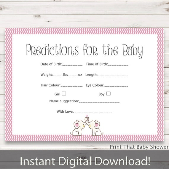 guess the baby weight template - baby shower games baby predictions game baby predictiction