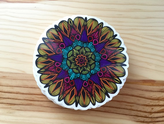 Colors Of The Mandala Sticker