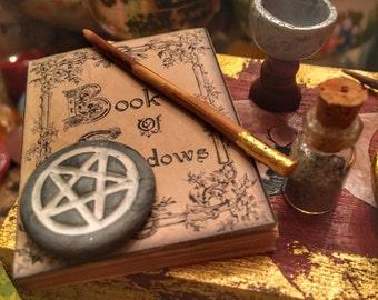 """Mini """"Wicca altar set"""" - Altare Wicca in miniatura"""
