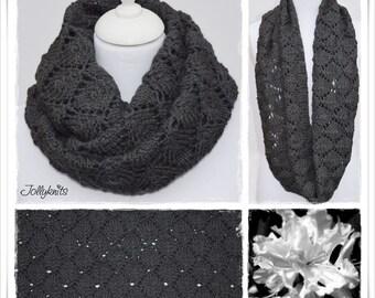 Knitting Pattern Cowl Grisabella