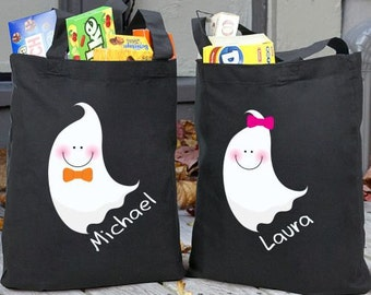 Personalized Halloween Bag, Trick or treat bag