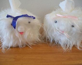 Fluffy Cat Tissue Box Cover for Children