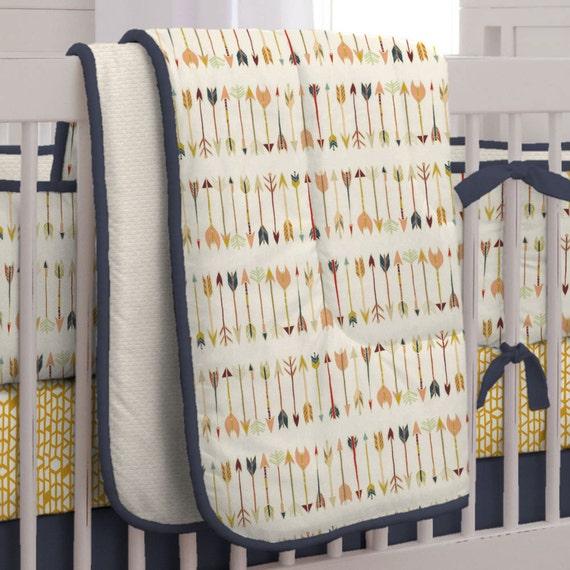 Boy Baby Crib Bedding Tribal Arrow Crib Comforter By Carousel