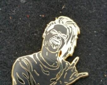 D. Brown Black on Gold