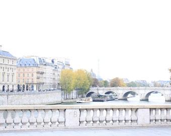 Paris Photography - Paris Print - Paris Decor - Paris Wall Decor - French Decor - Paris Wall Art - Paris Bridge