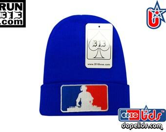 "D13 ""Major League DJ"" Beanie Skully Hip Hop DJ by lidstars headwear"