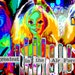 Barbie Is The Greatest In The Air Force - Pop Art/Rainbow Collage - Digital Collage Art (Instant Download)