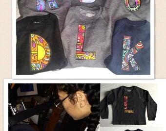 Alphabet Youth Sweatshirt (Custom Initial)