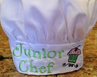 Kid's Chef Hat in White