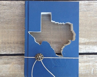 STATE BOOK CUTOUTS • Choose A Book To Make Into A Custom State Cut-Out • states • California • Texas • New York • Kansas • all 50 States