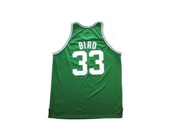 Larry Bird Boston Celtics Mitchell And Ness Hardwood Classics NBA Basketball Jersey
